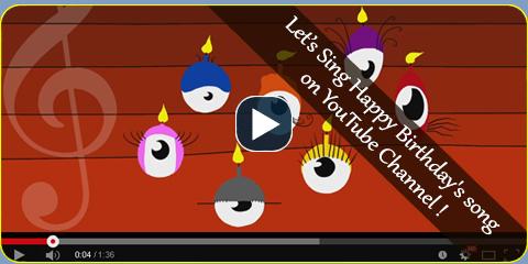 Youtube happy birthday song